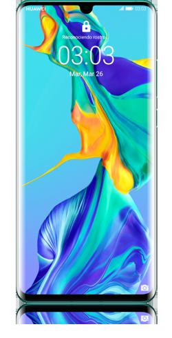 huawei p30 pro aurora blue-1