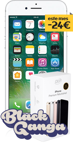 iphone 7 seminuevo plata