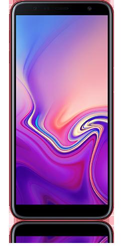 samsung galaxy j6+ rojo-4